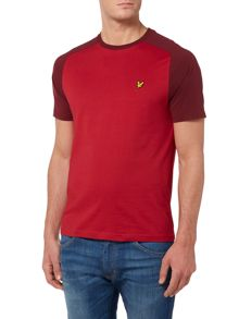 Lyle and Scott Sadle Shoulder Crew Neck Short Sleeve T-shirt