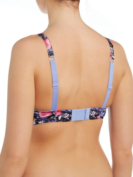 Marie Meili Brittany floral t-shirt bra