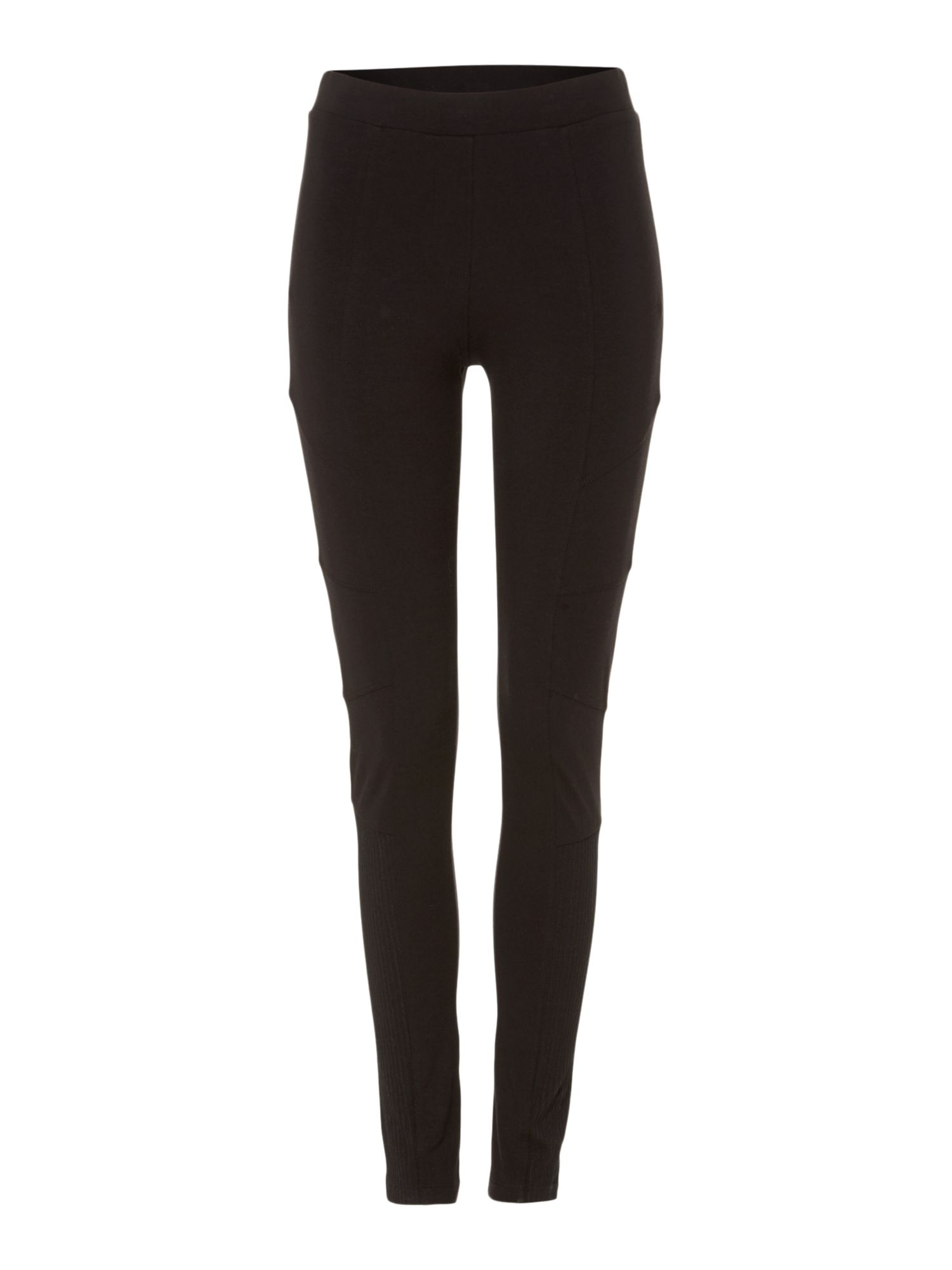 Label Lab Plain biker legging, Black