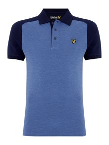 Lyle and Scott Sadle Shoulder Short Sleeve Polo