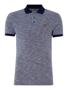 Oxford Slub Pique Short Sleeve Polo