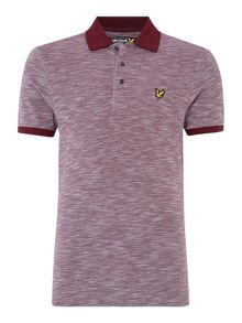 Lyle and Scott Oxford Slub Pique Short Sleeve Polo