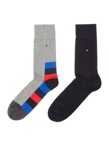 Tommy Hilfiger 2 pack of hidden art socks