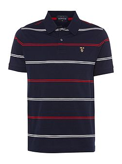 St Pierre mercerised short sleeve polo
