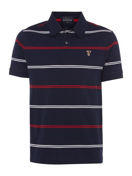 Howick St Pierre mercerised short sleeve polo