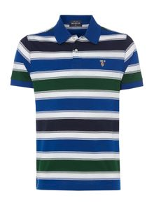Howick St Martin mercerised short sleeve polo