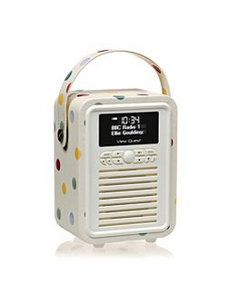 Retro Mini DAB+Radio Emma Bridgewater Polka Dot