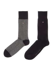 Tommy Hilfiger 2 pack of birdeye socks