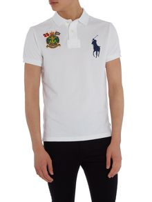 Polo Ralph Lauren Custom fit big polo player & crest logo polo