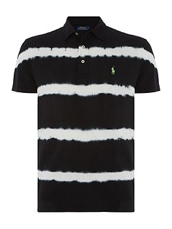 Custom fit featherweight mesh polo