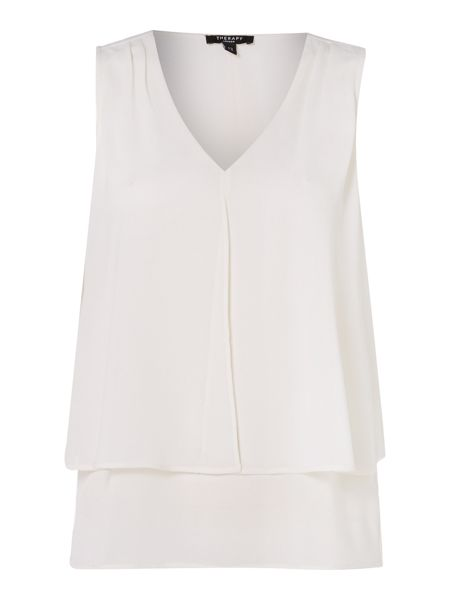 Therapy Daisy Double Layer Blouse