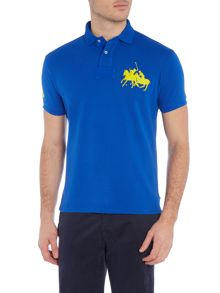 Regular fit dual big polo player polo