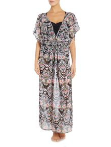 Freya Zodiac plunge maxi dress