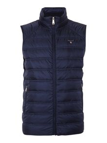 Zip Through Gilet
