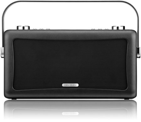 View Quest Hepburn DAB+ Radio & Bluetooth Speaker, Black