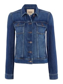 Paige Long sleeve Rowan denim jacket in veruca