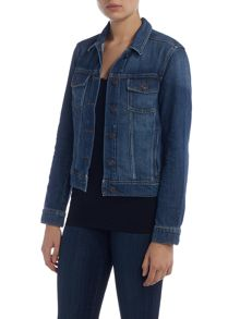 Long sleeve Rowan denim jacket in veruca