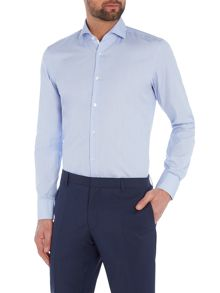 Hugo Boss Slim Thin Stripe Contrast Shirt