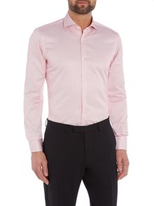 Hugo Boss Slim Sateen Stripe Shirt
