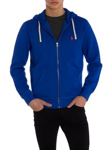 Full Zip Athletic Fleece Sweater