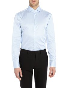 Hugo Boss Slim Sateen Bold Stripe Shirt