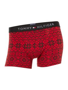 2 pack of fairisle and solid trunk underwear