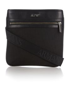 Armani Jeans Armani contrast leather small body bag