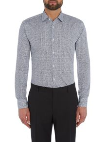 Hugo Boss Slim Check Geo Shirt