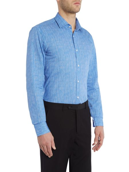 Hugo Boss Slim Micro Geo Print Shirt