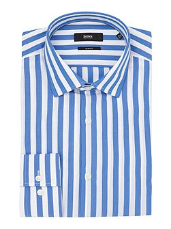 Slim Wide Stripe Shirt