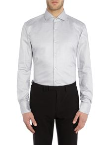 Hugo Boss Slim Black Geo Shirt