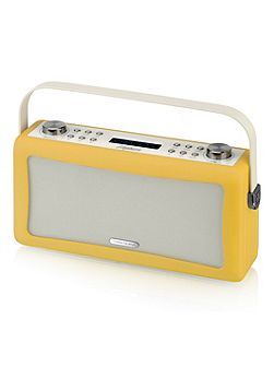 Hepburn DAB+ Radio & Bluetooth Speaker Mustard