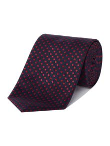 Hugo Boss Contrast Diamond Tie