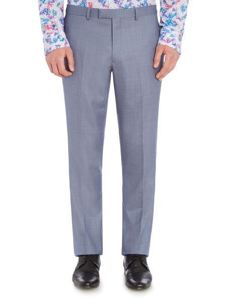 New & Lingwood Midhurst Textured Suit Trouser