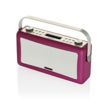 View Quest Hepburn DAB+ Radio & Bluetooth Speaker, Purple