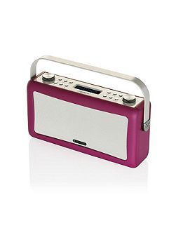 Hepburn DAB+ Radio & Bluetooth Speaker, Purple