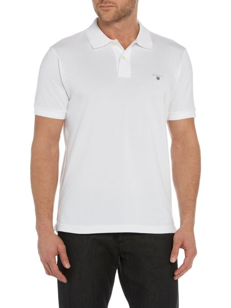 Gant Pique Short Sleeve Polo Shirt