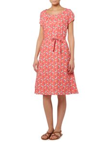 LILY & ME West Coast linen printed dress