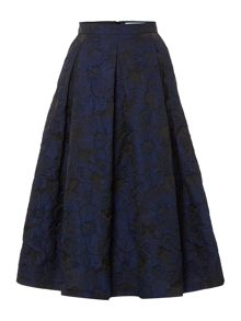 Dickins & Jones Floral Jacquard Skirt