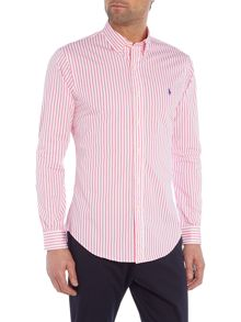 Polo Ralph Lauren Long sleeve slim fit poplin stripe