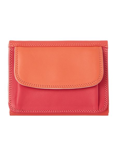 Mywalit Pink small flapover coin purse