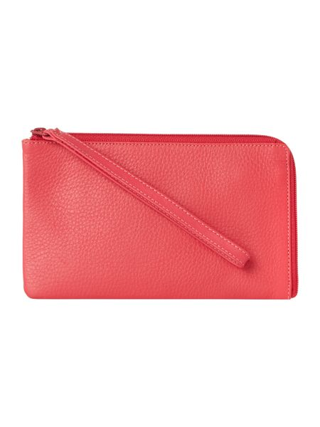 Mywalit Pink small wristlet pouch