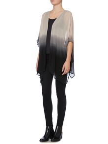 Label Lab Dip dye box pleat kimono