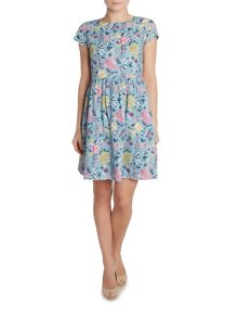 LILY & ME Floral printed cotton dress