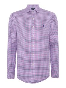 Polo Ralph Lauren Long sleeve slim fit check shirt