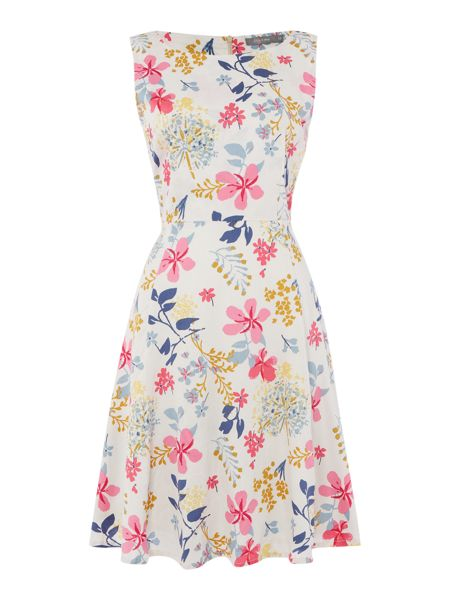 LILY & ME Sleeveless printed dress
