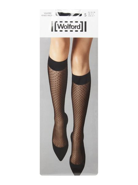 Wolford Valerie knee highs