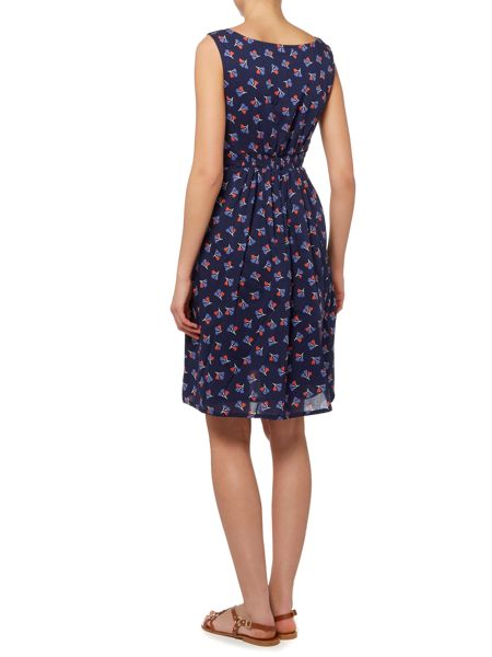 LILY & ME Sleeveless print dress with pockets