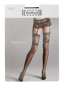 Wolford Filigra lace stockings