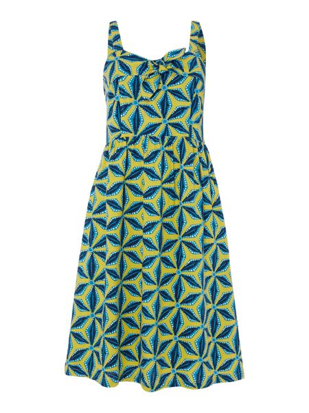 LILY & ME Tie front sleeveless dress